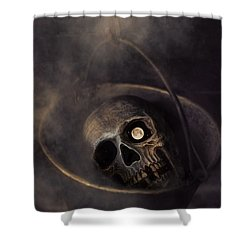 Shower Curtain featuring the photograph Beyond by Robin-Lee Vieira