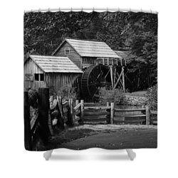 Beyond The Fence Shower Curtain by Eric Liller