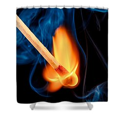 Beyond The Flame Shower Curtain