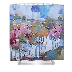 Beyond The Picket Fence Shower Curtain