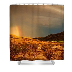Beyond The Rainbow Shower Curtain