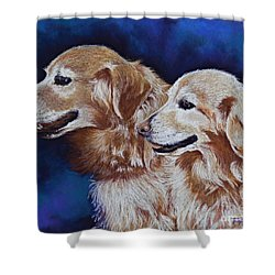 Bff Best Friends Forever Shower Curtain by Tracy L Teeter