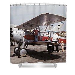 Bi-wing-3 Shower Curtain