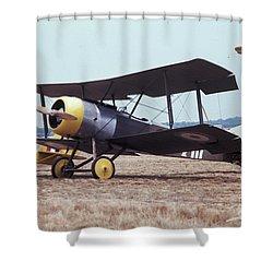 Bi-wing-4 Shower Curtain