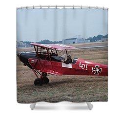 Bi-wing-7 Shower Curtain