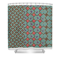 Bibi Khanum Ds Patterns No.1 Shower Curtain