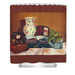 Bible Stories Shower Curtain