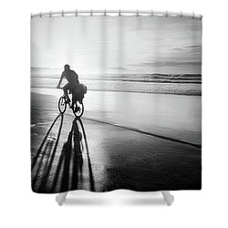 Bicycles Are For The Summer Shower Curtain