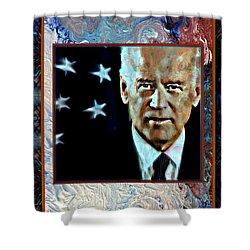 Biden Shower Curtain by Wbk