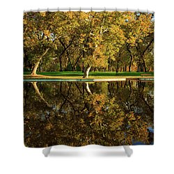 Bidwell Park Reflections Shower Curtain