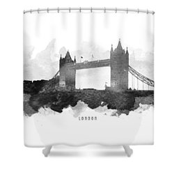 Big Ben London 11 Shower Curtain by Aged Pixel