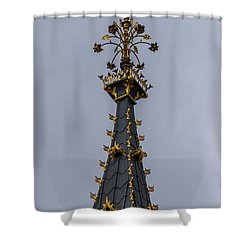Big Ben Top Shower Curtain