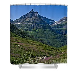 Big Bend, Glacier National Park Shower Curtain