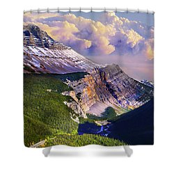 Big Bend Shower Curtain by John Poon