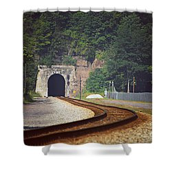 Big Bend Tunnel  Shower Curtain