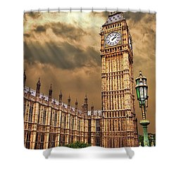 Big Ben's House Shower Curtain