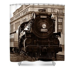 Big Boy... Shower Curtain by Arthur Miller