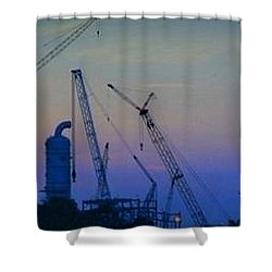 Big Boy Erector Set Shower Curtain