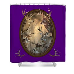 Big Bucks Shower Curtain