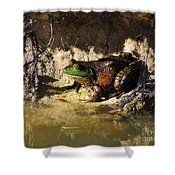 Shower Curtain featuring the photograph Big Bud by Al Powell Photography USA