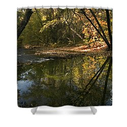 Big Chico Creek Shower Curtain