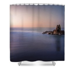 Big Corona Rock Shower Curtain