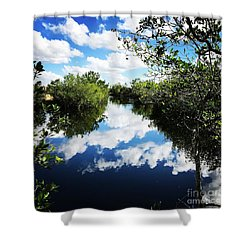 Big Cypress National Preserve Shower Curtain