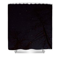 Shower Curtain featuring the photograph Big Dipper by Barbara Bowen