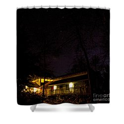 Big Dipper Over Hike Inn Shower Curtain
