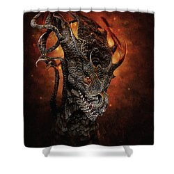 Big Dragon Shower Curtain
