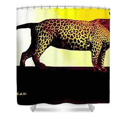 Big Game Africa - Leopard Shower Curtain