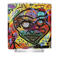 Big Games Shower Curtain