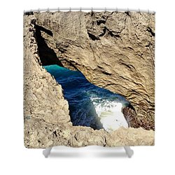 Big Hole  Shower Curtain