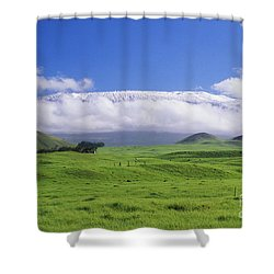 Big Island, Waimea Shower Curtain by Peter French - Printscapes