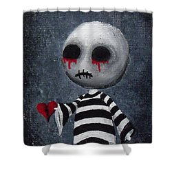 Big Juicy Tears Of Blood And Pain 1 Shower Curtain