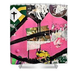 Big Kiss Shower Curtain