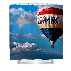 Big Max Re Max Shower Curtain by Bob Orsillo