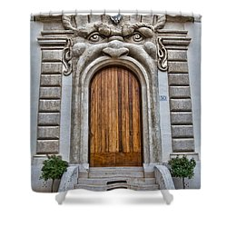 Shower Curtain featuring the photograph Big Mouth Door by Kim Wilson