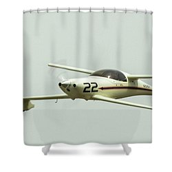 Big Muddy Air Race Number 22 Shower Curtain