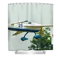 Big Muddy Air Race Number 25 Shower Curtain