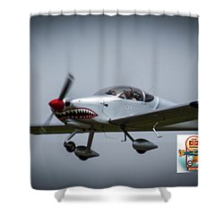 Big Muddy Air Race Number 5 Shower Curtain