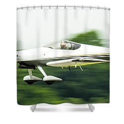 Big Muddy Air Race Number 8 Shower Curtain