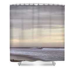 Big Ocean Shower Curtain