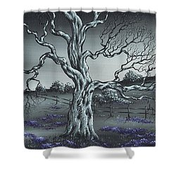 Big Old Tree Shower Curtain