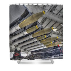 Big Payload Shower Curtain