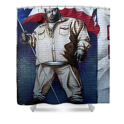 Big Pun Shower Curtain