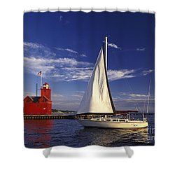 Big Red - Fm000060 Shower Curtain
