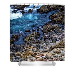 Big Sur #1 Shower Curtain