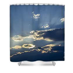Shower Curtain featuring the photograph Big Sky by Alana Ranney