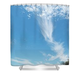Big Sky Beach Shower Curtain